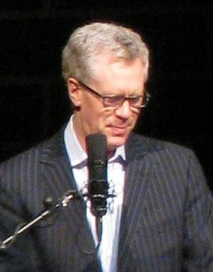 Stuart McLean - McLean on stage at the Centennial Concert Hall in 2008