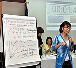 Students join the 'USAID and Higher Education in Vietnam' talk (8202361082).jpg