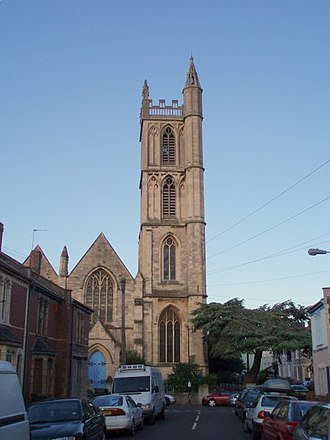 Ashley (Bristol ward) - St Werburgh's Church