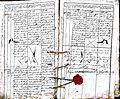Subačiaus RKB 1832-1838 krikšto metrikų knyga 066.jpg