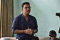 Subhojit Saha Speaks - Wikimedia Meetup - AMPS - Kolkata 2017-04-23 6691.JPG
