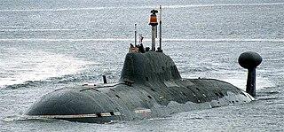 Russian submarine <i>Vepr</i> (K-157)
