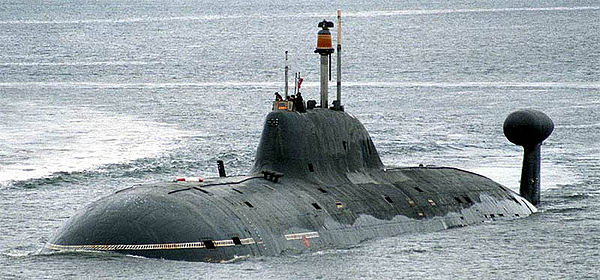 Russian Akula-class submarine of the Northern Fleet Submarine Vepr by Ilya Kurganov crop.jpg
