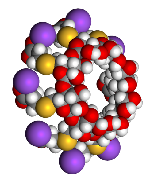 Fitxer:Sugammadex sodium 3D three quarters view.png
