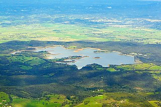 Sugarloaf Reservoir reservoir in Australia