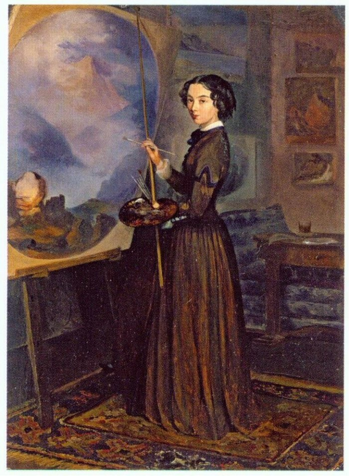 Sukhovo-Kobylina-Selfportrait