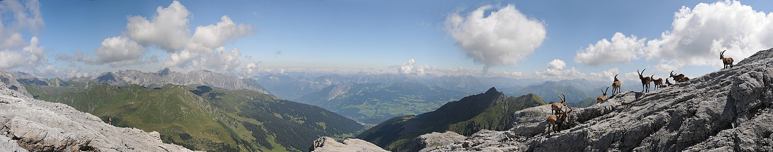 Sulzfluh Plateau Panorama