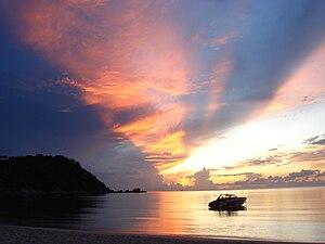 Ko Pha-ngan - Sunrise, Thong Nai Pan