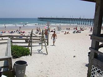 Surf City, North Carolina - The beach at Surf City