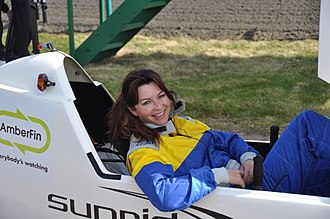 Suzi Perry - Perry filming for The Gadget Show in 2011