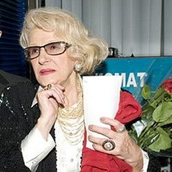 Светлана Дружинина на премьере фильма «Виват, Анна!» в кинотеатре «Пушкинский». 11ноября 2009