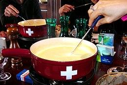 La fonduta svizzera
