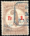 Switzerland Basel 1899 bordereau revenue 1Fr - 10B.jpg