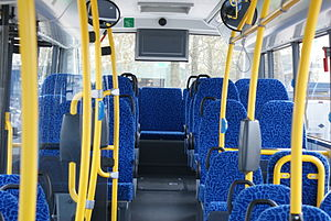 Berkhof Ambassador - Image: Syntus Bus voor Midden Overijssel interieur