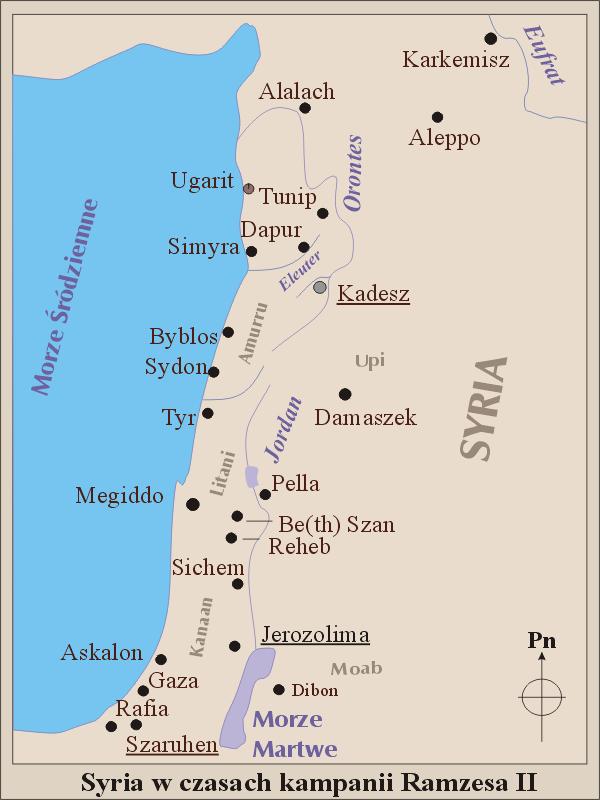 Syria za Ramzesa II