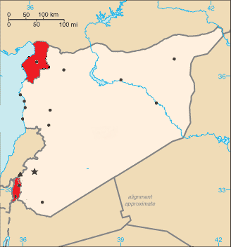 Syrie revendications