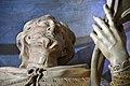 Szentgotthárd, ciszterci templom előcsarnokának Nepomuki Szent János szobra 2021 04.jpg