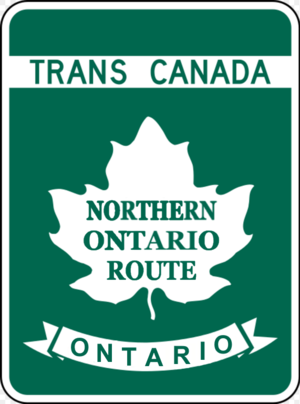 Highways in Ontario - Image: TCH NOR