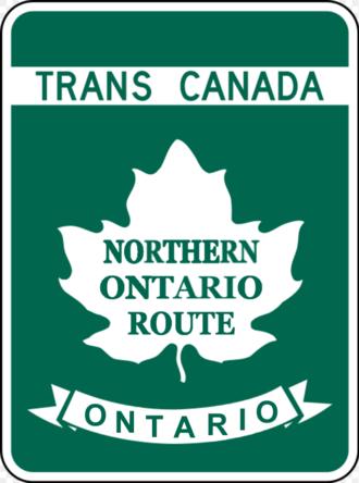 Highways in Ontario - Image: TCH NOR
