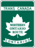 Trans-Canada Highway Northern Ontario Route shield