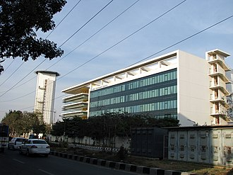 Whitefield, Bangalore - Image: TCS L Center Whitefield 2 25 2012 5 17 00 PM