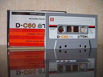 TDK - Image: TDK D60 1979