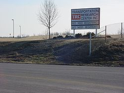 The Transportation Research Center, a facility owned by Honda and the US government, occupies a large part of Perry Township