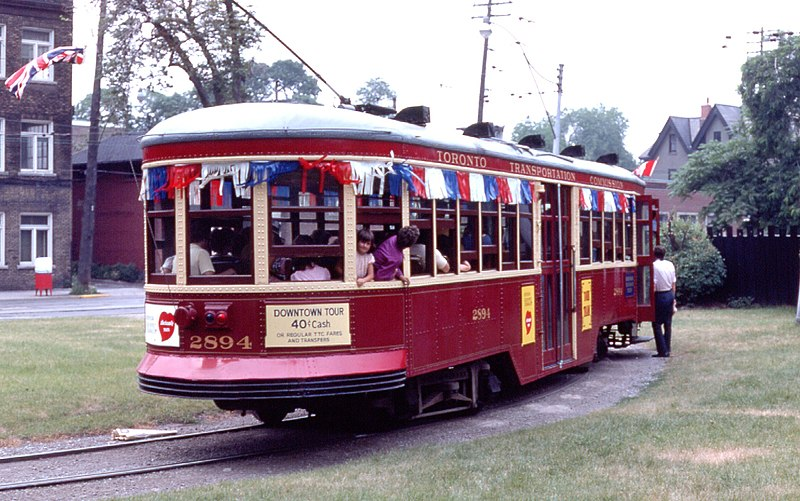 File:TTC Peter Witt streetcar in 1975.jpg