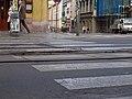 TT Anděl – Hlubočepy, Na Knížecí, přechod.jpg
