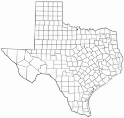 Location of Jolly, Texas