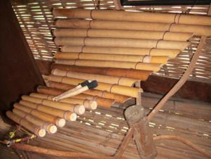 T'rưng - a đàn T'rưng of the Bahnar people