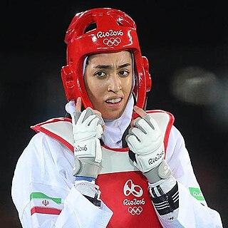 Kimia Alizadeh Iranian Taekwondo athlete