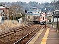 Taita Line Train coming to Hime Station - 1.jpg