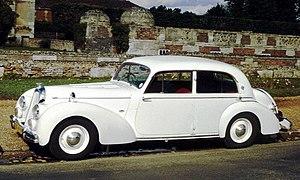Talbot Lago Record - Image: Talbot Lago T26 Berline ca 1950 Anet
