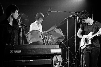New wave music - Talking Heads performing in Toronto in 1978