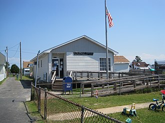 Tangier, Virginia - Tangier's post office