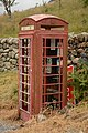 Telephone kiosk at the foot of Hardknott Pass, August 2019.jpg
