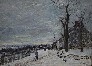 Temps de neige à Veneux-Nadon