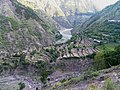 Terracing agriculture along the river in Naran Valley.jpg