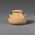 Terracotta alabastron (jar) MET DP121159.jpg