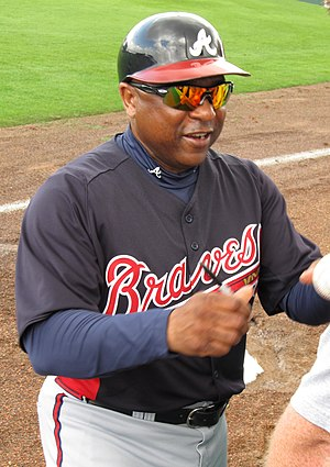 Terry Pendleton - Pendleton as a coach with the Atlanta Braves