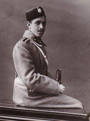 Abdolhossein Teymourtash - Teymourtash as a young cadet