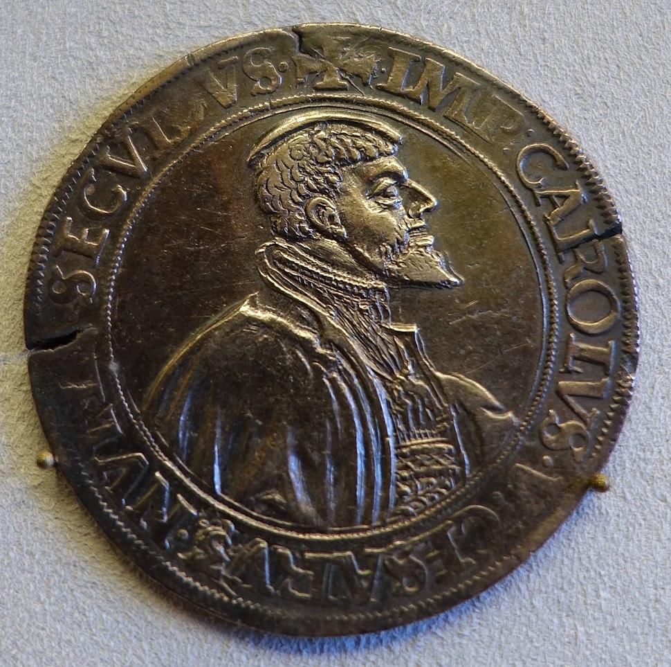 Thaler, Karl V, Holy Roman Empire, Lubeck, 1537 - Bode-Museum - DSC02687