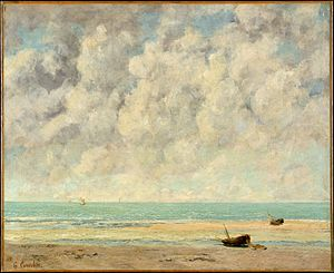 gustave Courbet The Calm Sea
