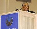 The Chief Advisor of Bangladesh, Dr. Fakhruddin Ahmed addressing the 14th SAARC Summit, in New Delhi on April 03, 2007.jpg