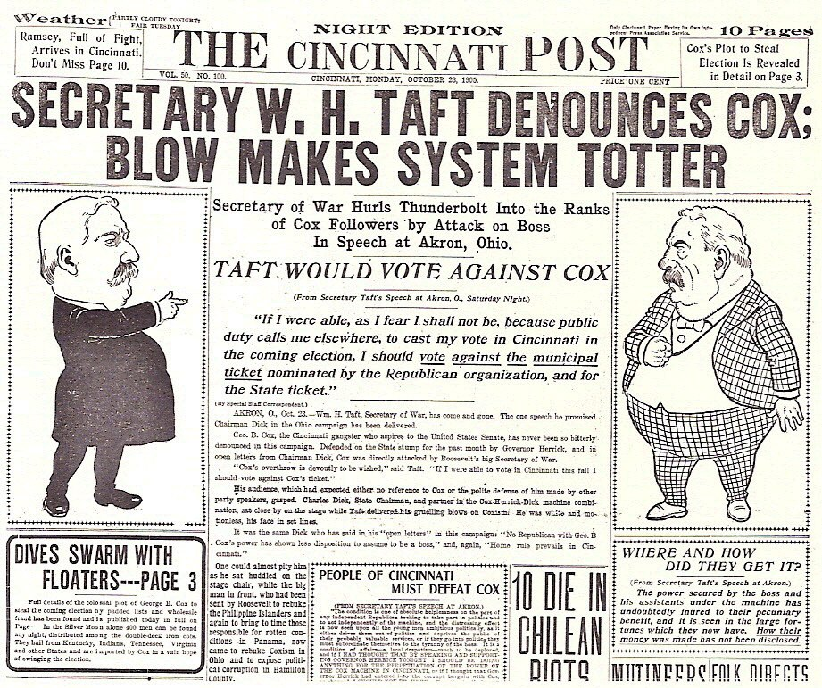 The Cincinnati Post, October 23, 1905