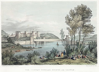 The Conway Tubular Bridge and Castle
