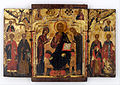 The Deesis (Intercession) flanked by saints - Google Art Project.jpg