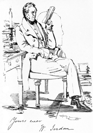 William Jerdan - Image: The Editor of the Literary Gazette — The Maclise Portrait Gallery, p.1