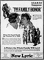 The Family Honor (1920) - Ad 2.jpg